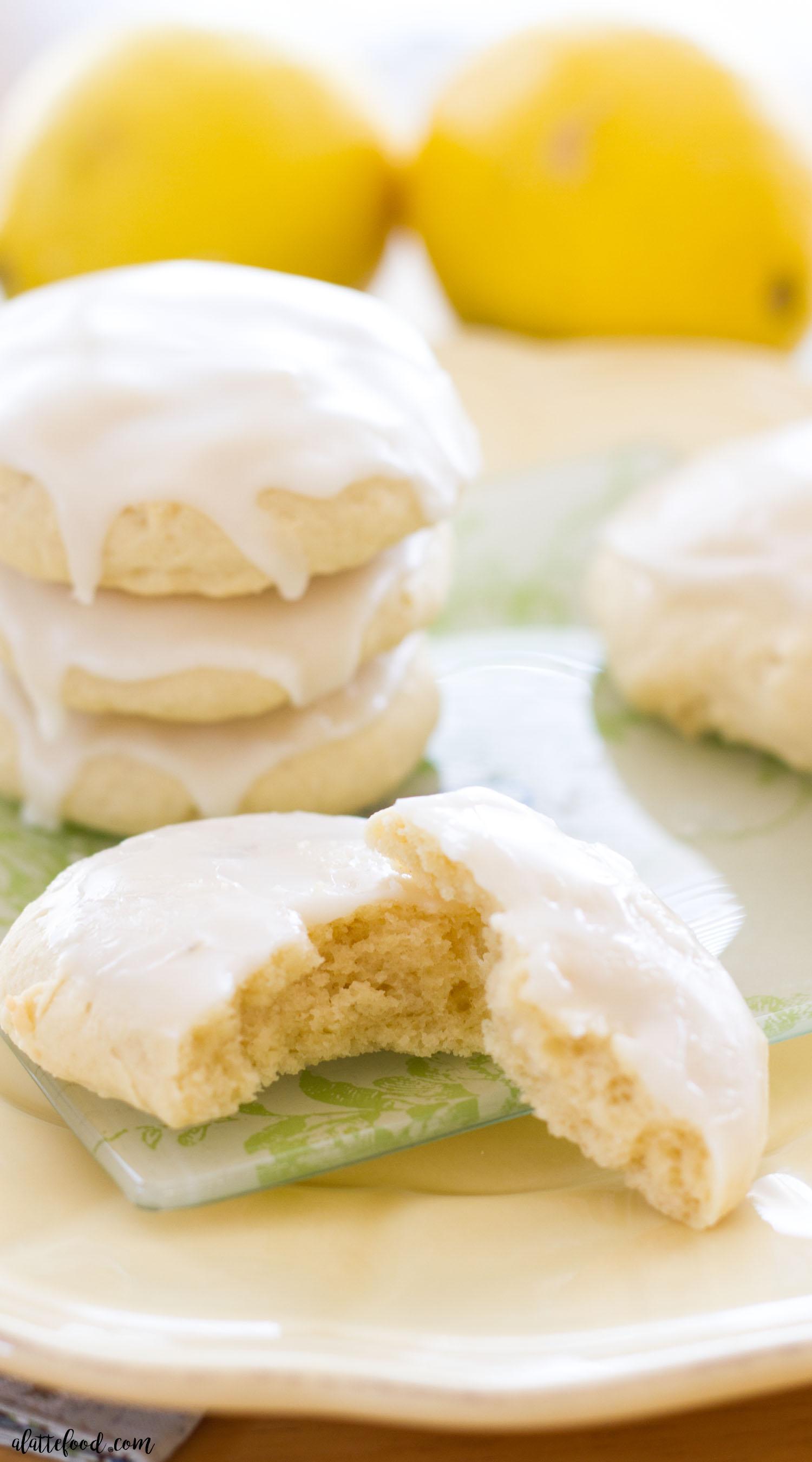 Lemon Cookie Icebox Cake