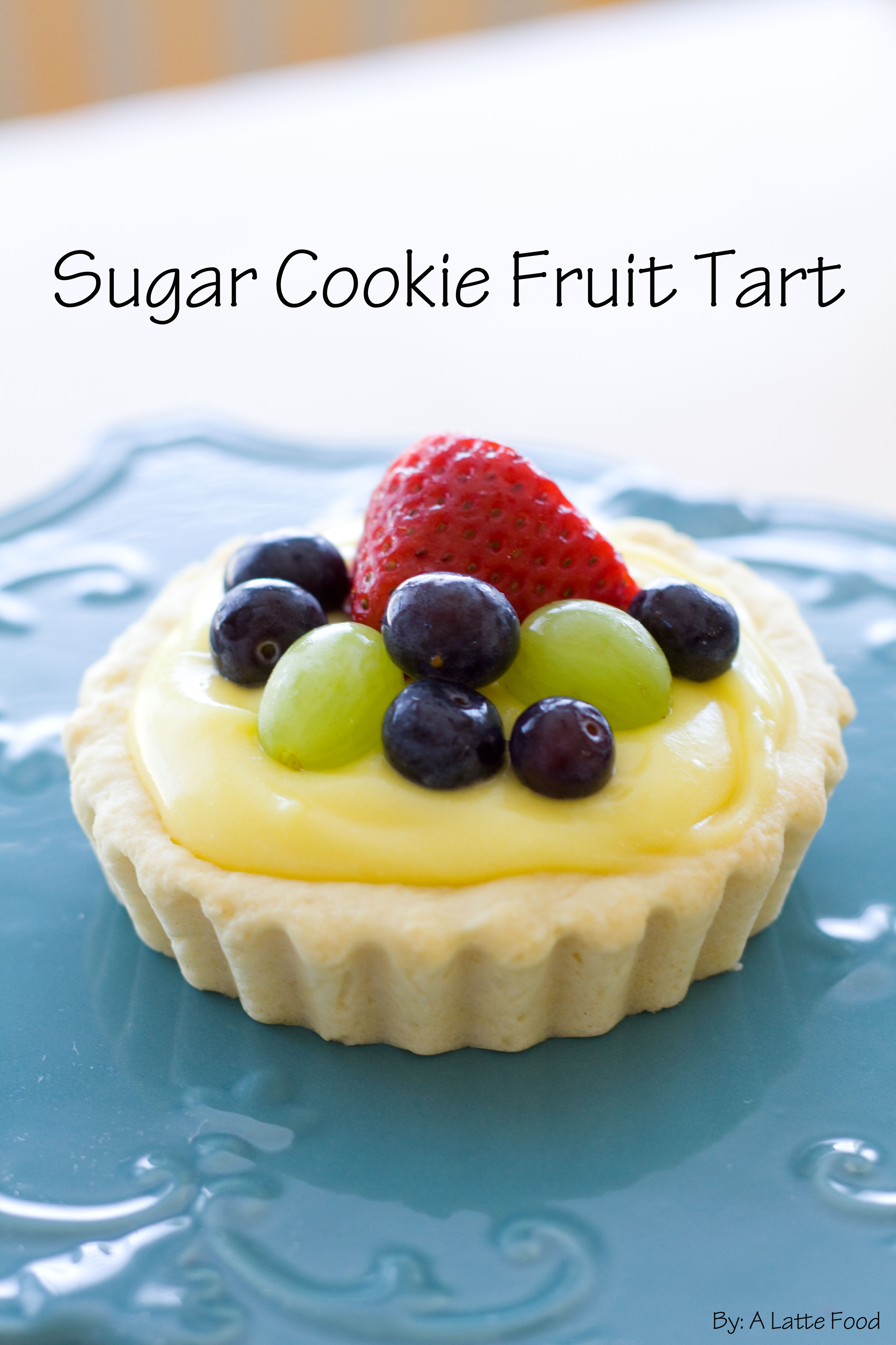 Sugar Cookie Fruit Tarts: Easy and delicious, these sugar cookie tarts ...