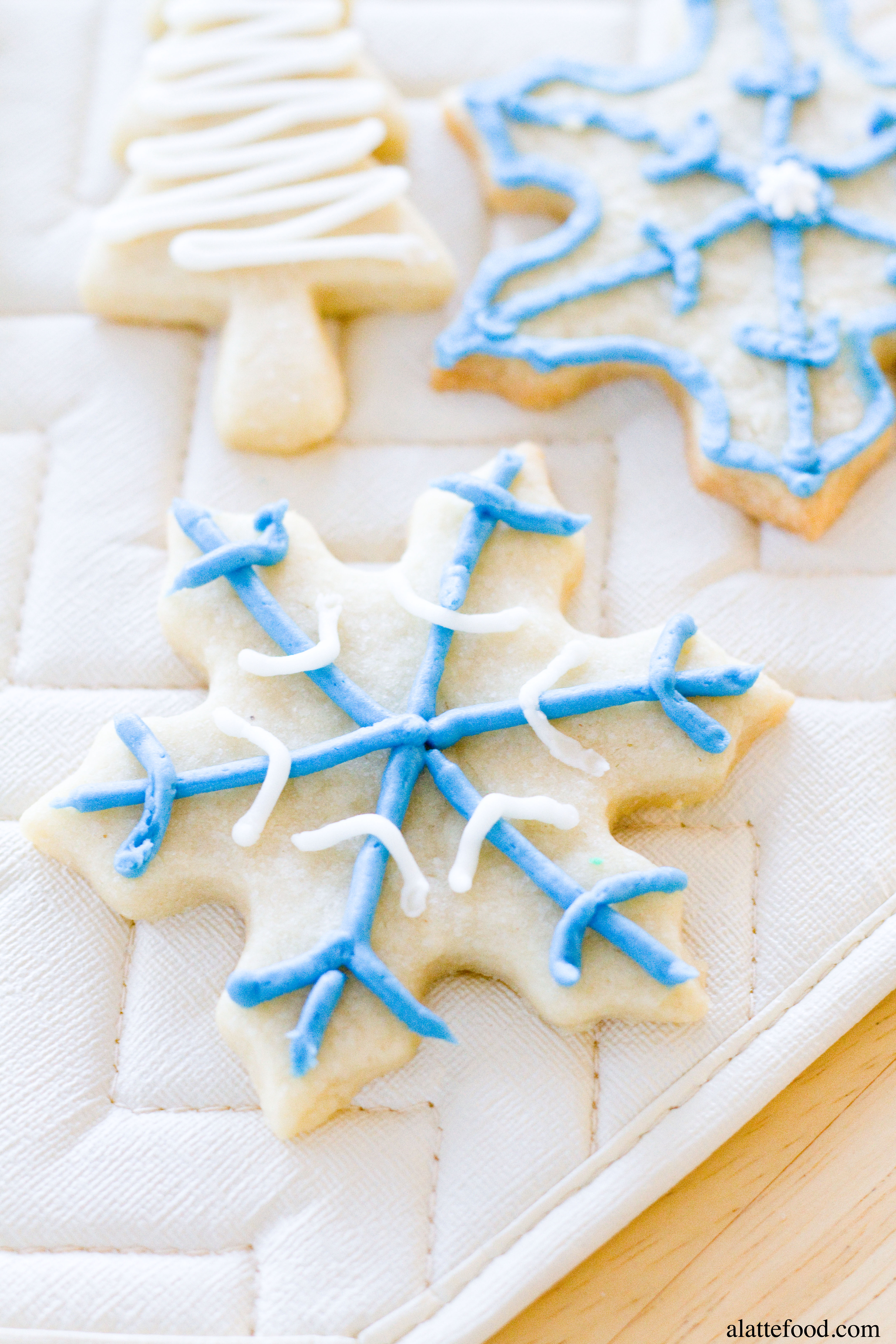 Soft-Baked Cutout Sugar Cookies - A Latte Food