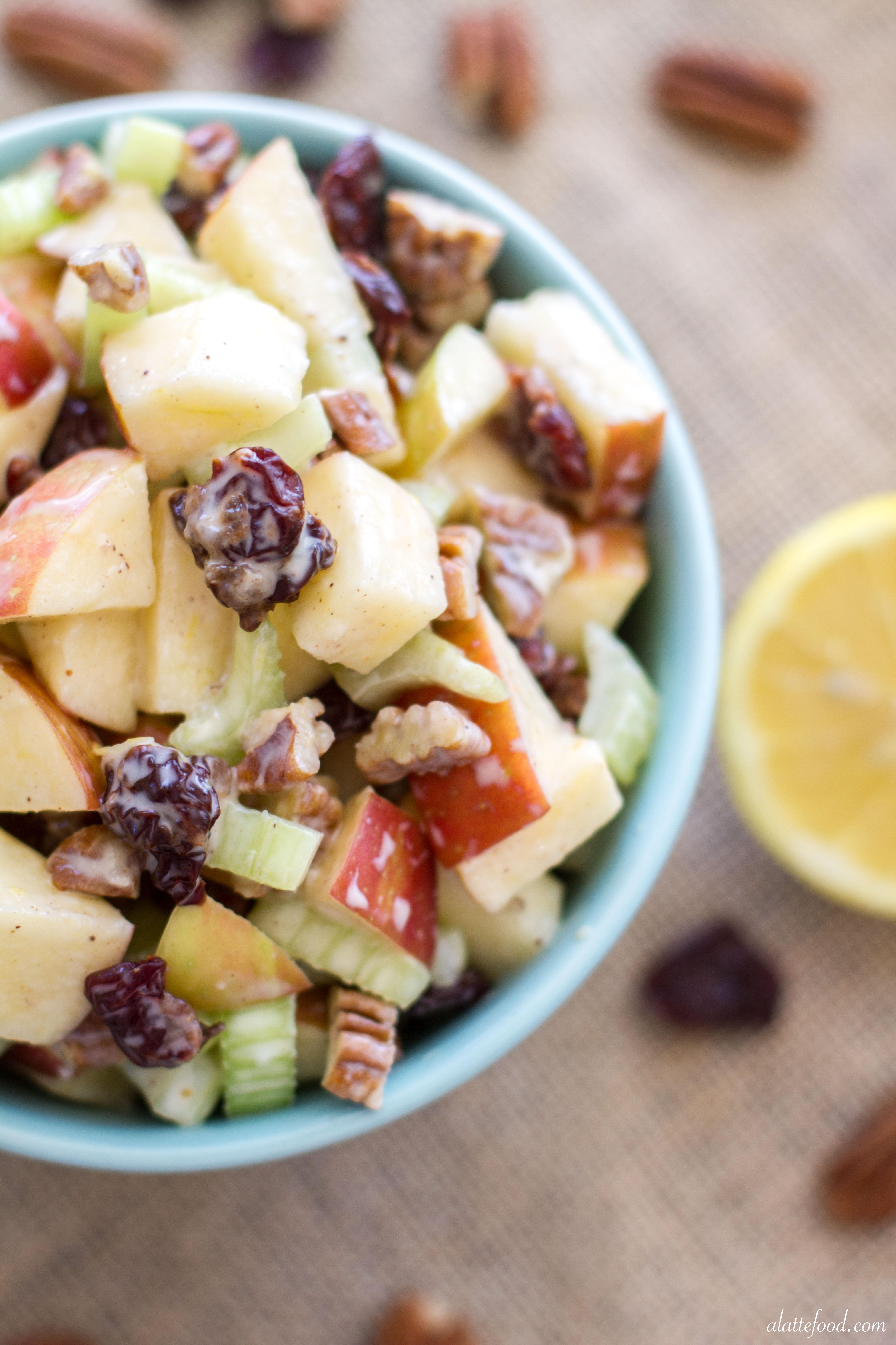 Greek yogurt waldorf salad a latte food forumfinder Choice Image