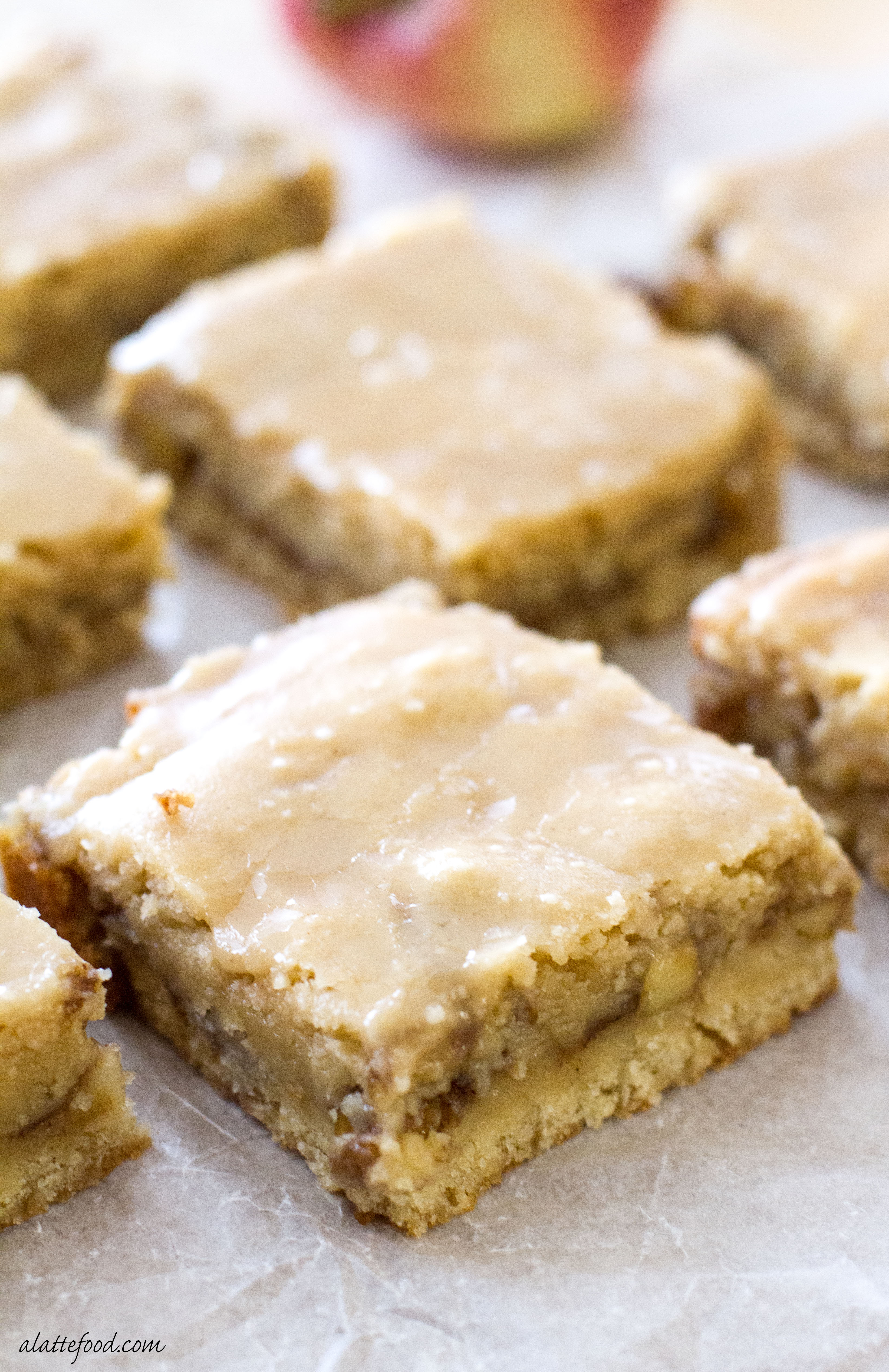 blondies with maple sugar candy chewy blondies full of maple glazed ...