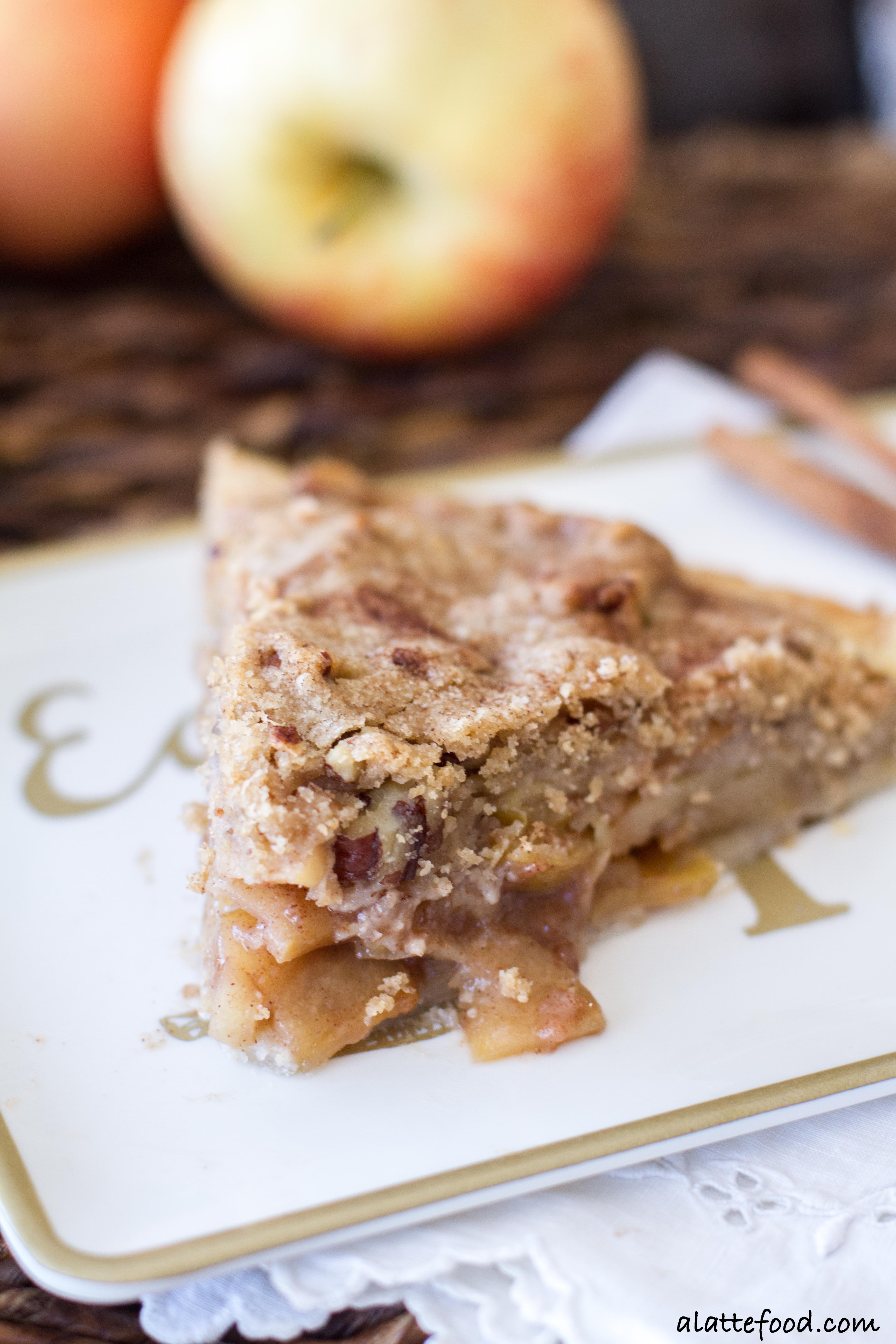 Rustic dutch apple pie a latte food forumfinder Choice Image