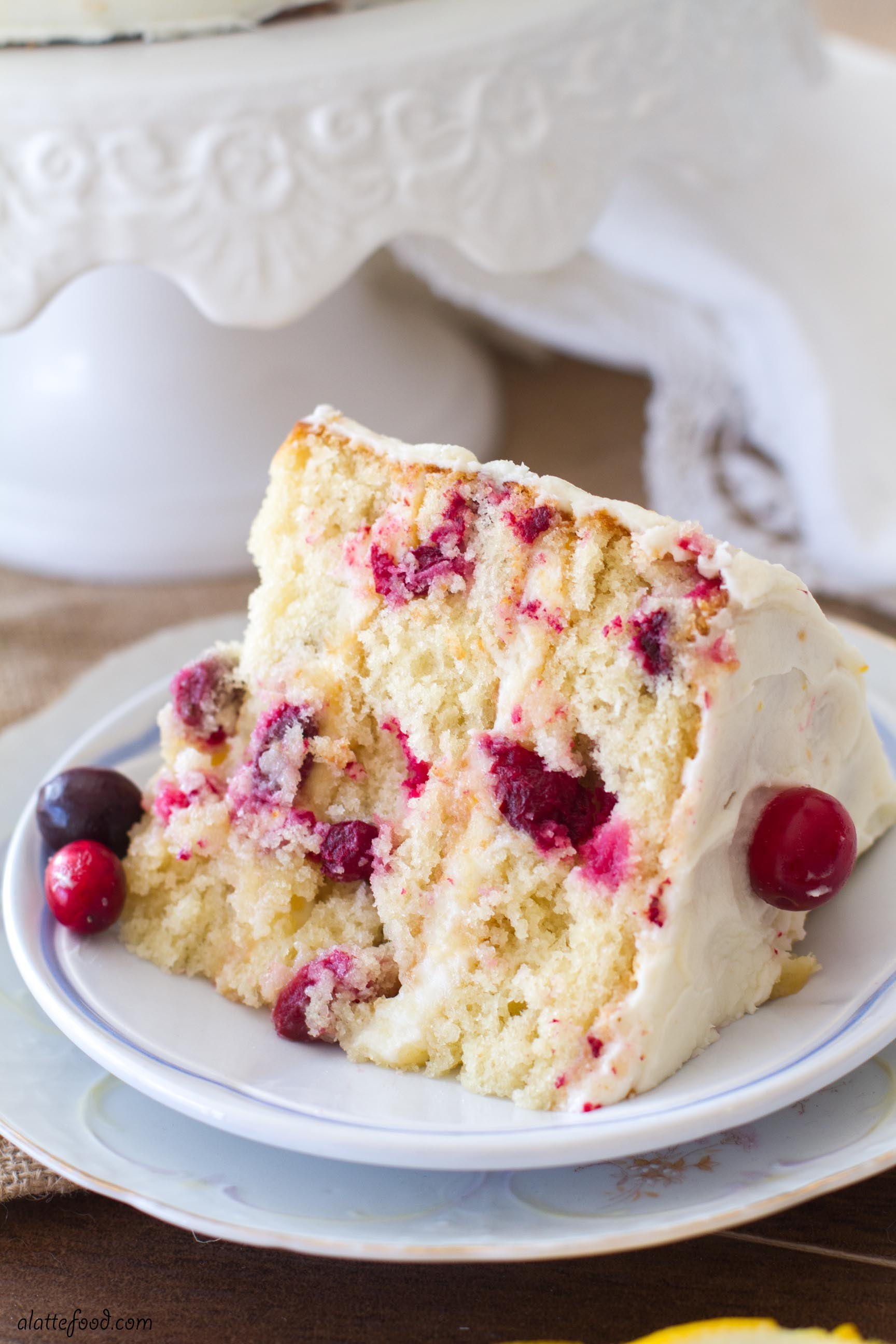 Cranberry Spice Coffee Cake