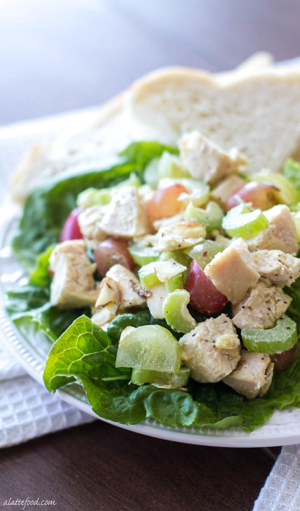 Light and Healthy Chicken Salad Recipe