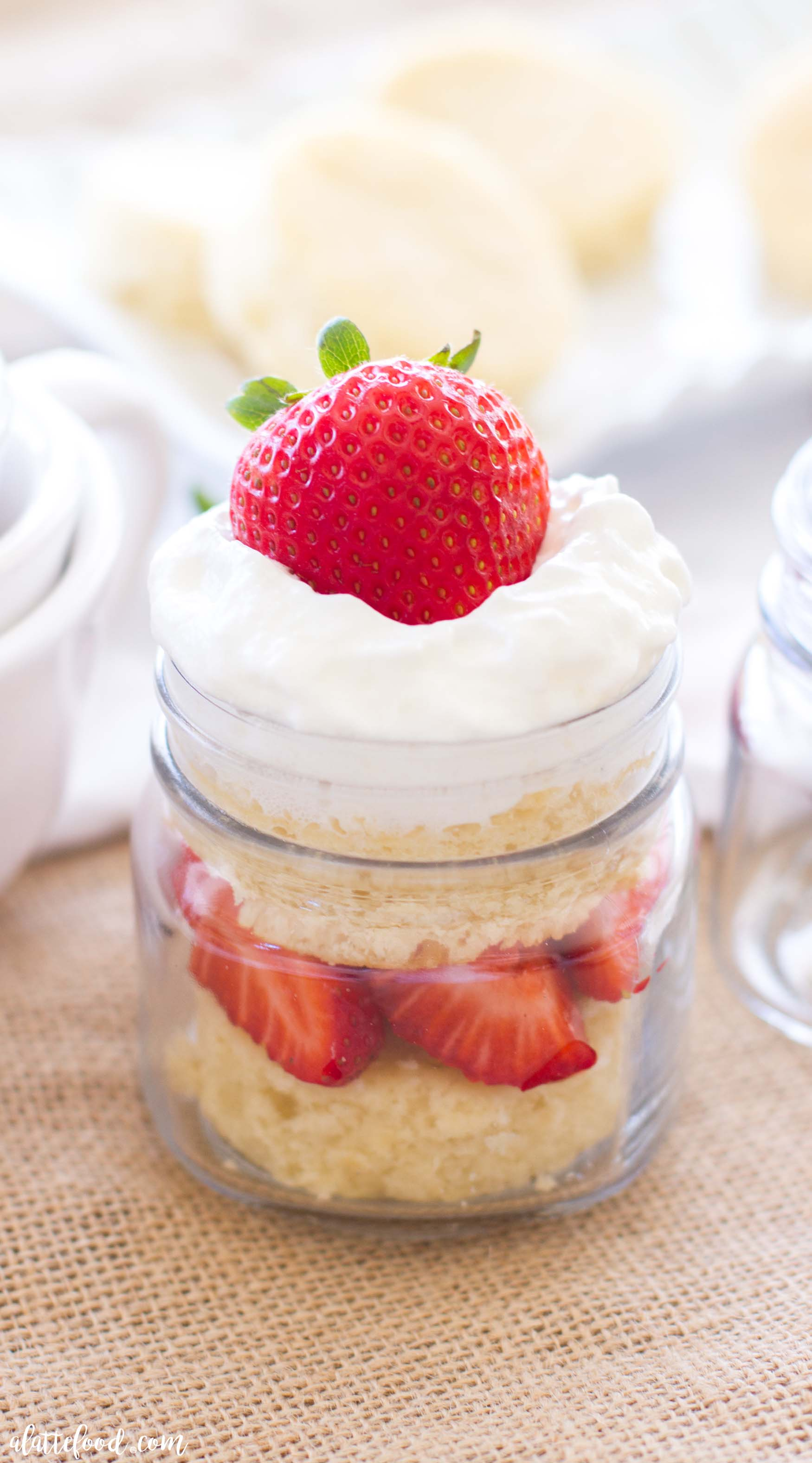 Strawberry Layered Cake Recipe Fresh Strawberries