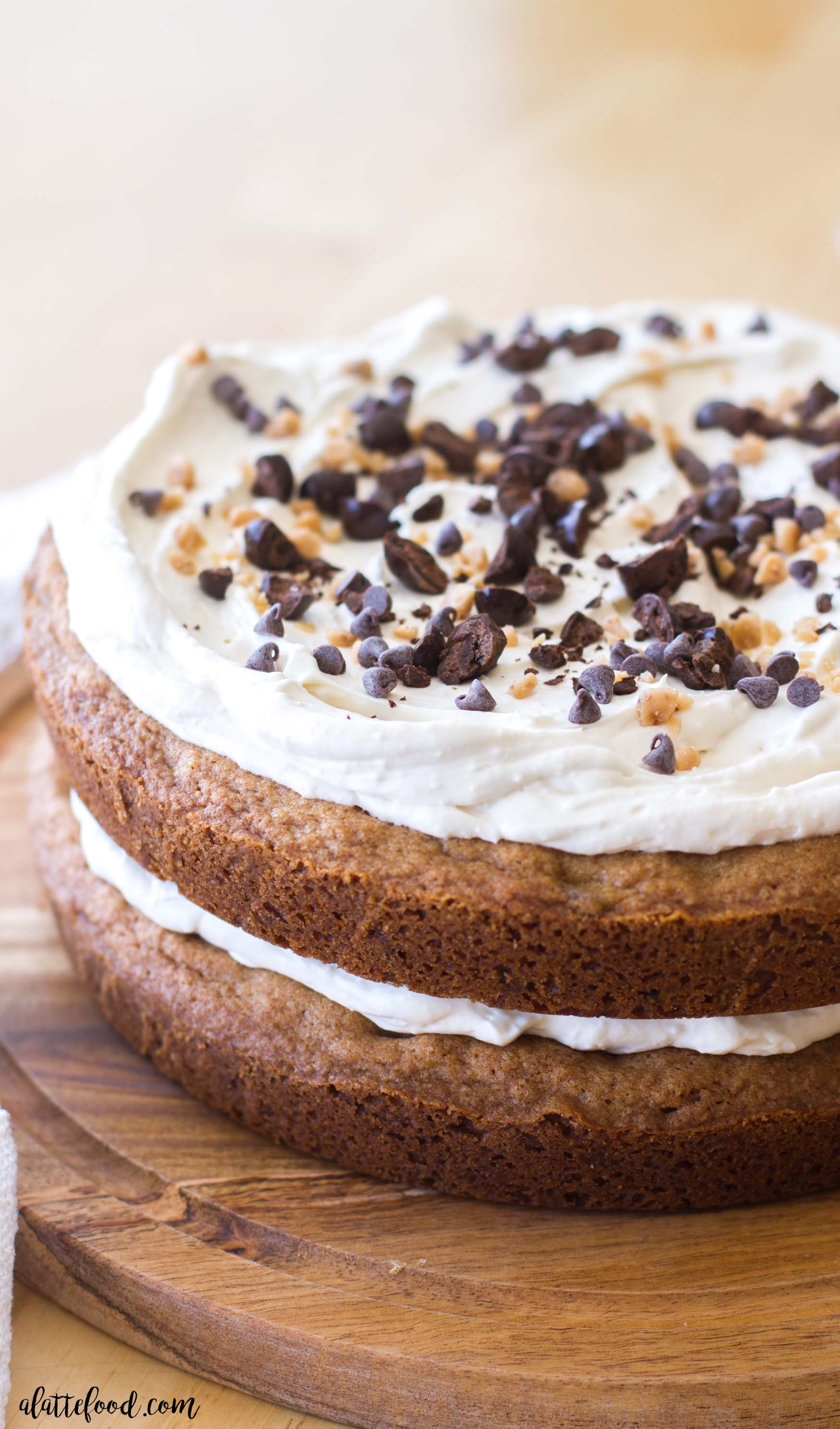 Espresso chocolate chip coffee cake