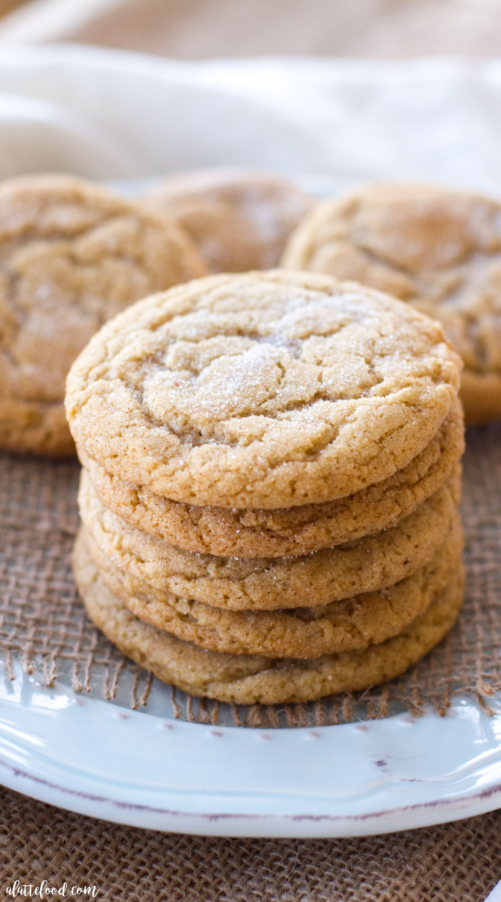 Maple Snickerdoodles A Latte Food