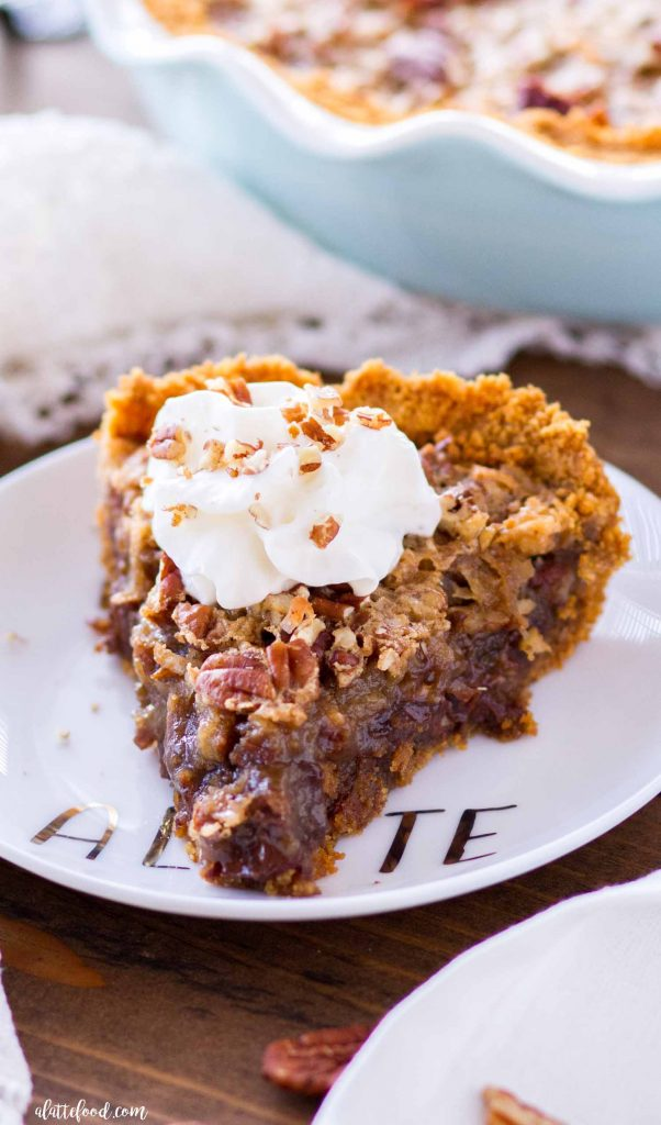 No Crust German Chocolate Pie