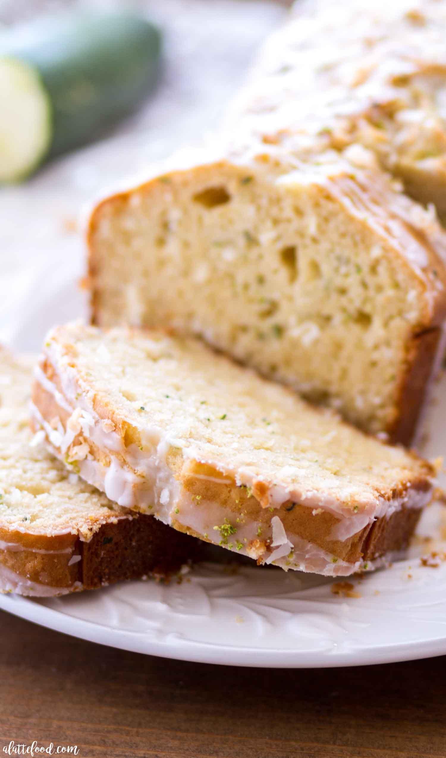 LIME COCONUT ZUCCHINI BREAD RECIPE