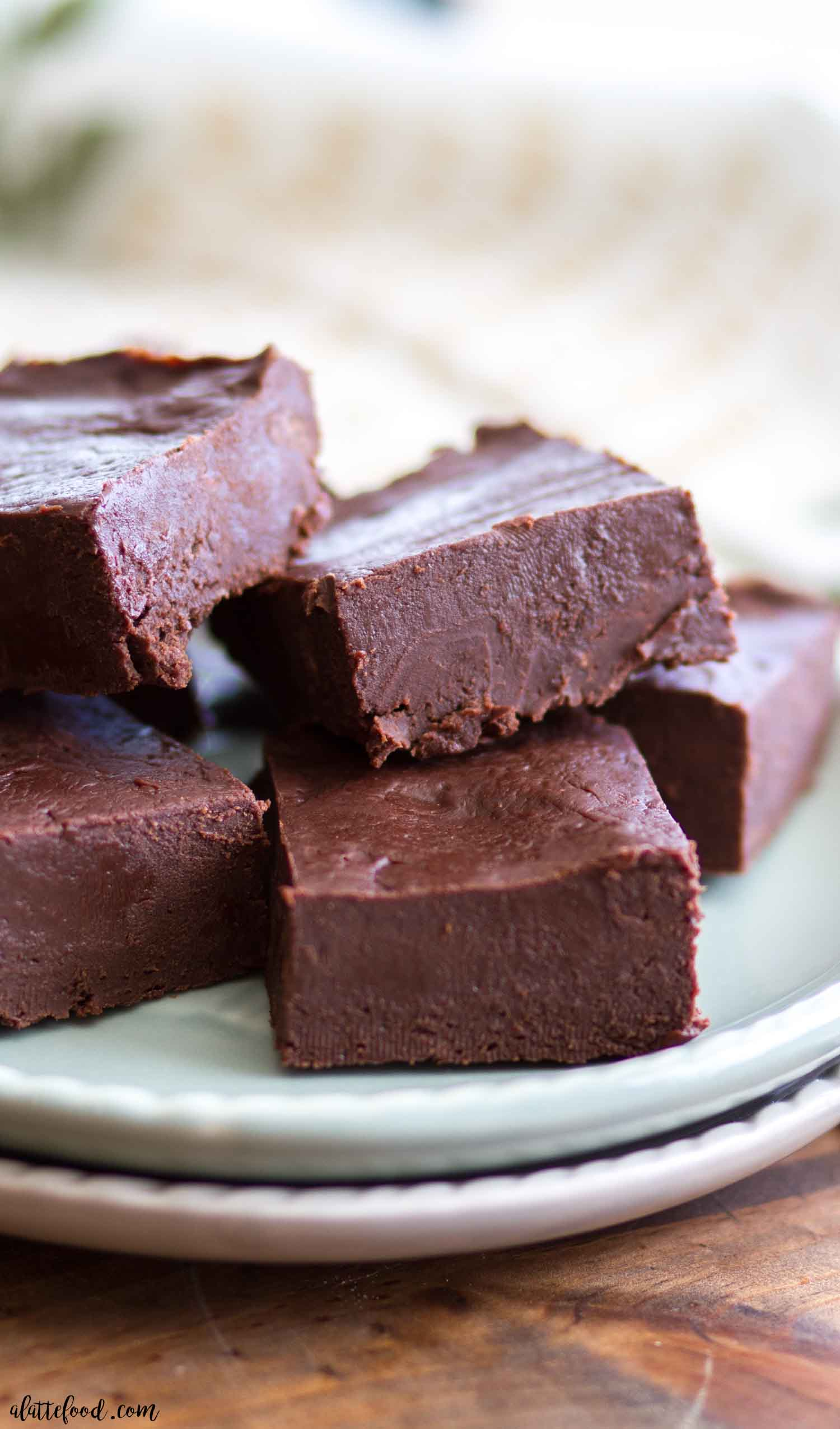 This Easy Chocolate Fudge Recipe is made with just a few ingredients and it comes out perfectly every single time! You don't need a candy thermometer or any fancy tools either.